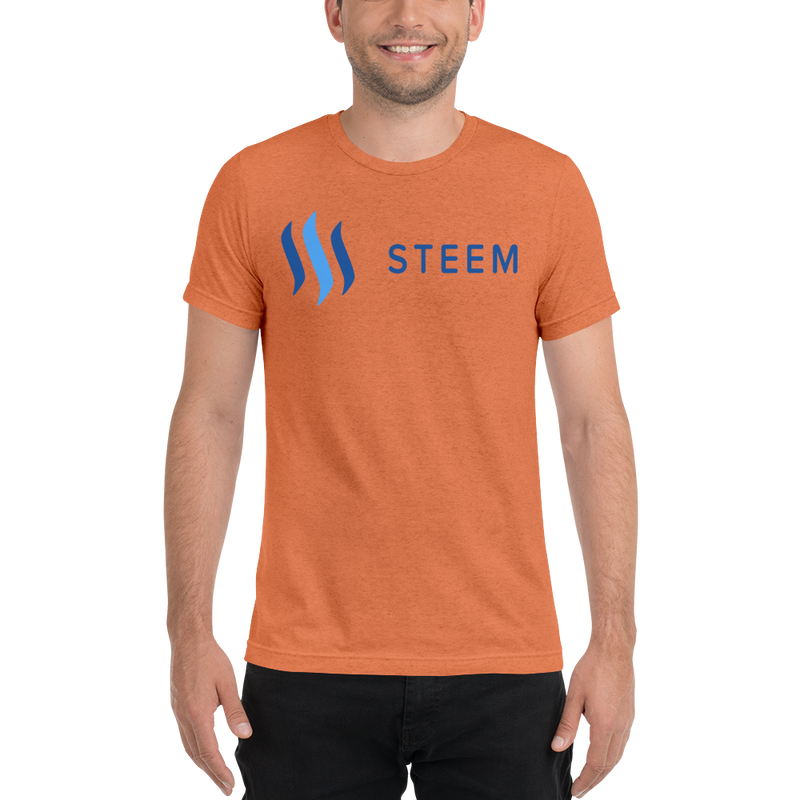 Steem – Men's Tri-Blend T-Shirt