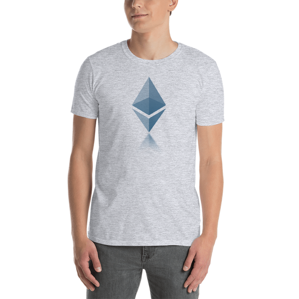 Ethereum reflection - Men's T-Shirt