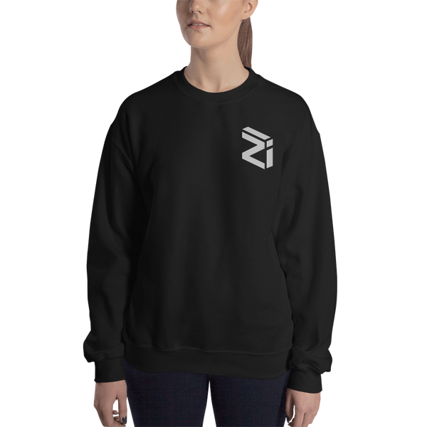 Zilliqa – Women's Embroidered Crewneck Sweatshirt