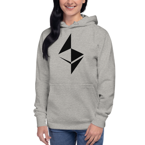 Ethereum surface design – Women's Pullover Hoodie