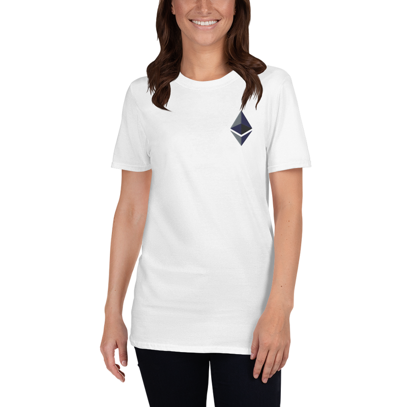Ethereum logo - Women's Embroidered T-Shirt