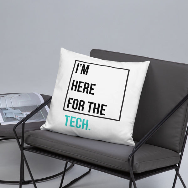 I'm here for the tech (Zilliqa) - Pillow