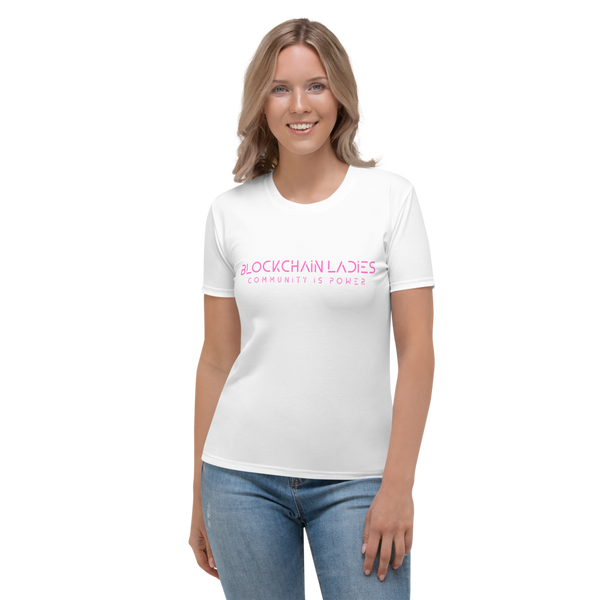 Blockchain Ladies Women's T-shirt
