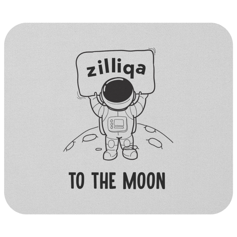 Zilliqa to the moon - Mousepad
