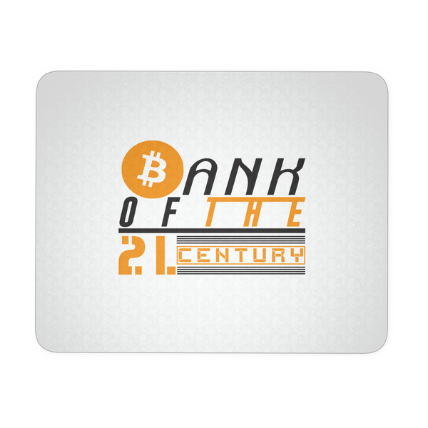 Bank of the 21. century - Mousepad