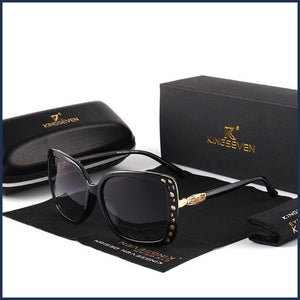 K7215 Oval Butterfly Gradient Sunglasses – Women's