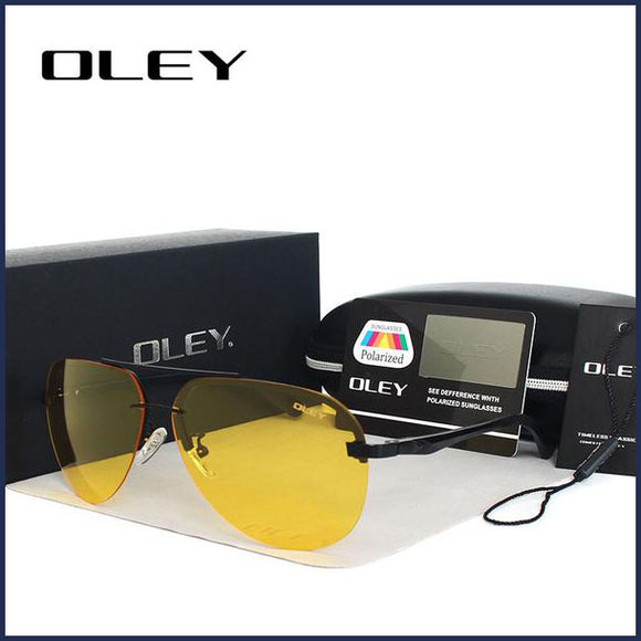 Y143Y High-Contrast Polarized Sunglasses – UNISEX