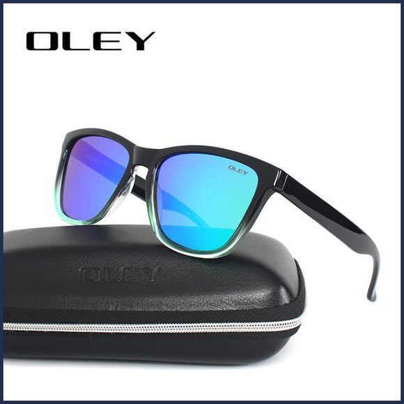 Y9606 Classic Polarized UV400 Square Sunglasses - Unisex