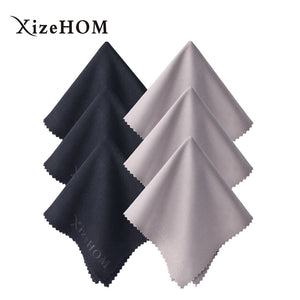 "6pk Large Microfiber Cleaning Cloth for Eyeglasses 12""x12"""
