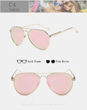 Y0635 Polarized Retro Metal Suglasses - Unisex