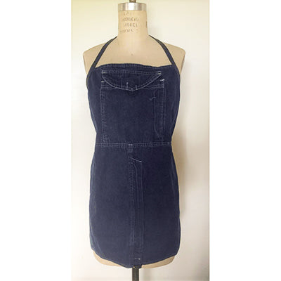 Denim Cargo Pocket Apron
