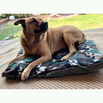 Trendy Forest Camo Pet Bed Cover M/L
