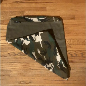Trendy Forest Camo Pet Bed Cover Small