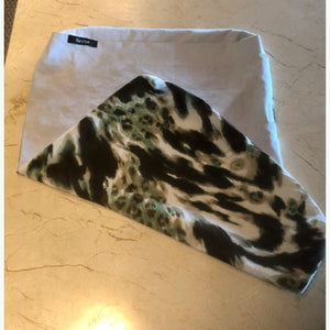 Wild Earth Print Pet Bed Cover - One of a Kind Size Small