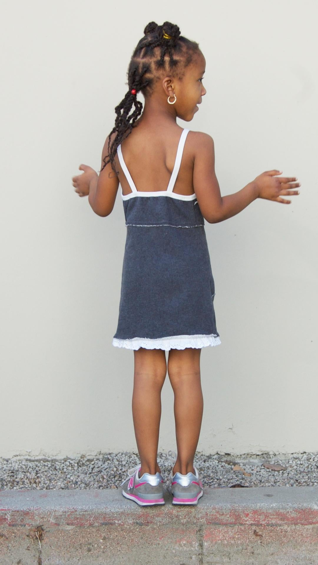 Fleece Tank Dress