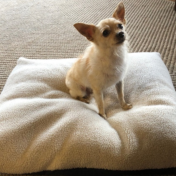 Sherpa Dog Bed Cover