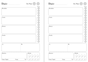 Personalised Wedding 6 Months Maintenance Diary Inserts