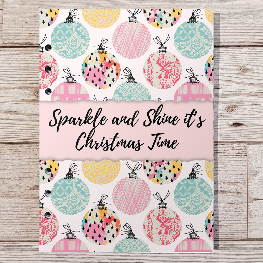 Sparkle & Shine 8 and 12 Week Organiser Refill