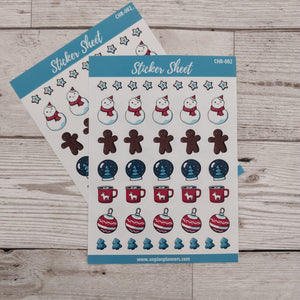 Christmas Stickers - CHR 002