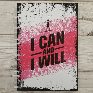 I can and I will 8 and 12 Week Food Diary (Female)