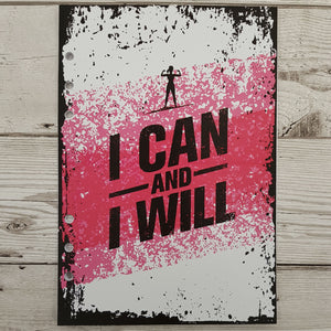 I Can and I Will (Female) 12 Week Exercise Diary