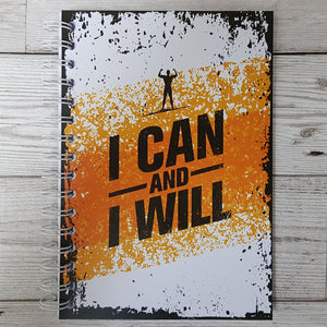 I Can and I Will (Male) 12 Week Exercise Diary