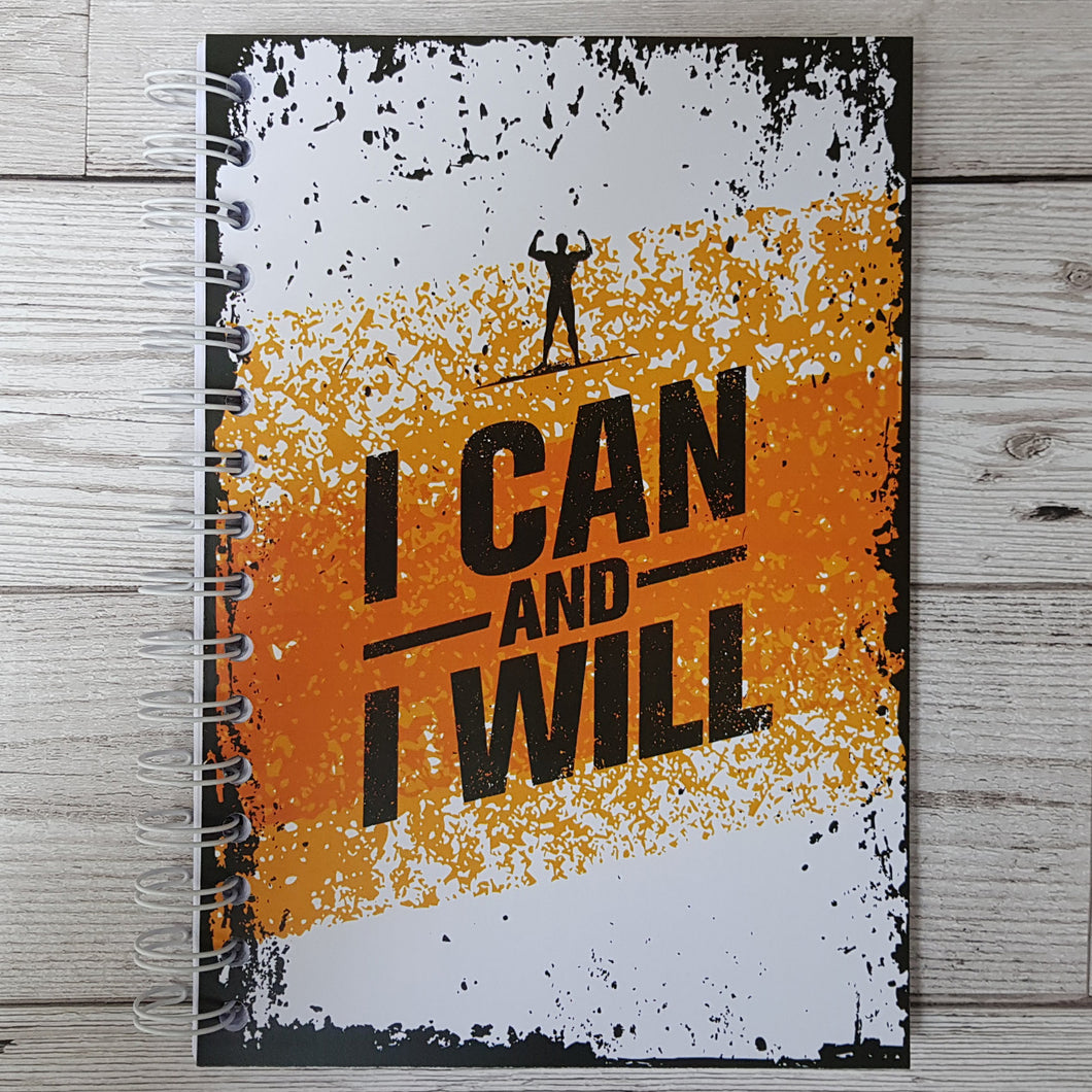 I can and I will 12 Week Food Diary