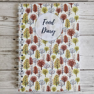 Autumn Trees 12 Week Food and Daily Life Diary