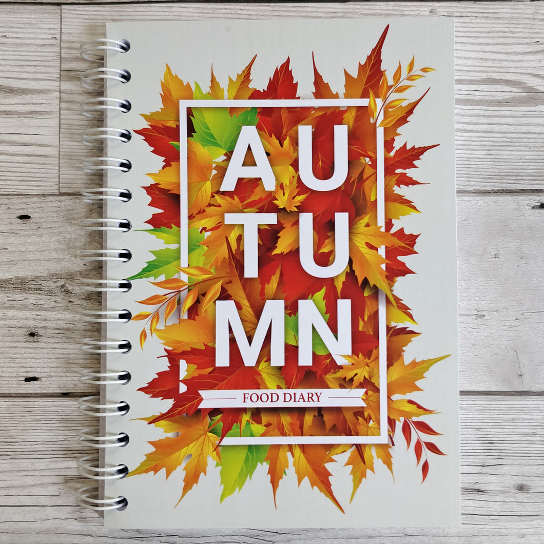 Autumn Leaves 8 and 12 Week Food Diary