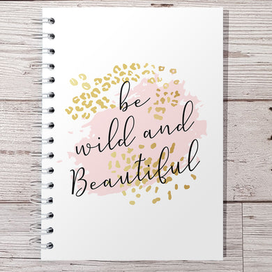 Be wild & beautiful 12 Week Food and Daily Life Diary