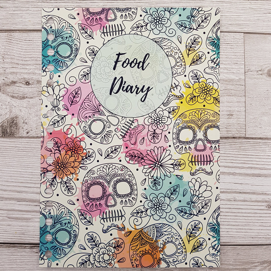 Skulls 8 and 12 Week Food Diary