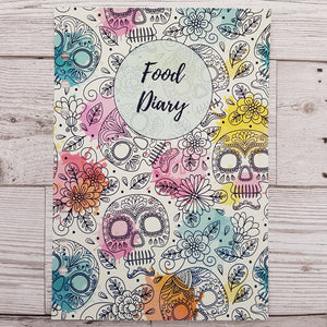 Skulls 12 Week Food and Daily Life Diary Refills