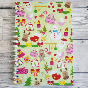 Christmas Fun 12 Week Food and Daily Life Diary