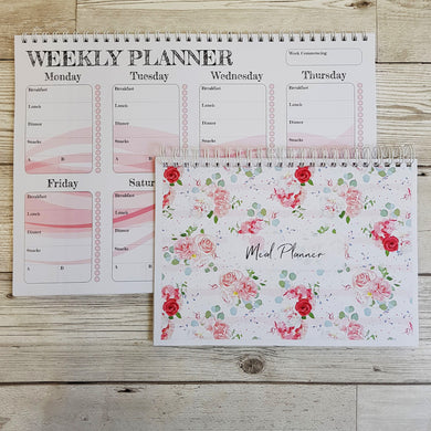 A5 Weekly Meal Planner