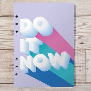 Do It Now 8 and 12 Week Organiser Refill