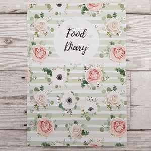 Green Floral 8 and 12 Week Organiser Refill