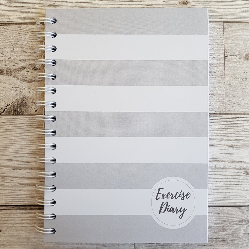 Grey Stripe 12 Week Exercise Diary