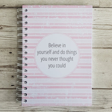 Believe in yourself 12 Week Food Diary