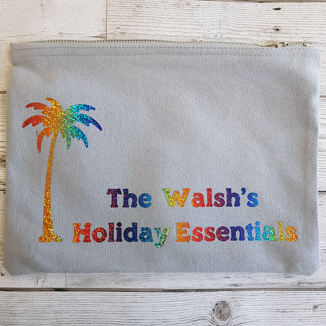 Holiday (personalised) essentials Bag
