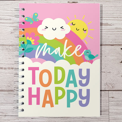 Make Today Happy 12 Week Food and Daily Life Diary