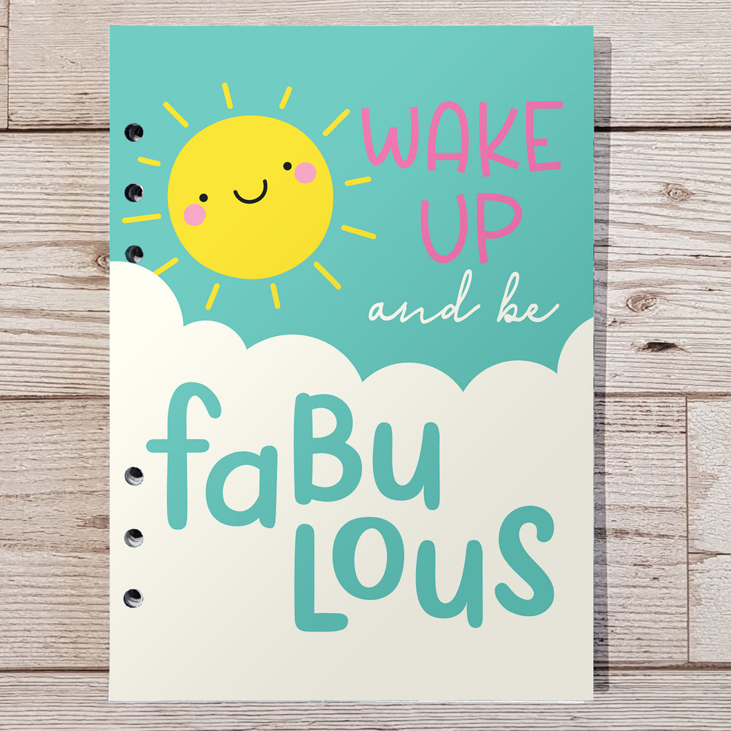 Wake up fabulous 12 Week Food and Daily Life Diary Refills