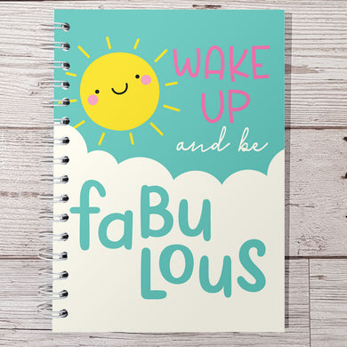 Wake Up Fabulous 12 Week Food and Daily Life Diary