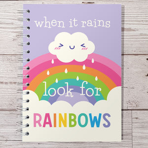 Look for rainbows 6 Month Maintenance Diary
