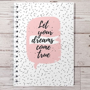 Let your dreams come true 12 Week Food and Daily Life Diary