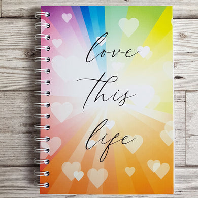 Love this Life 8 and 12 Week Food Diary