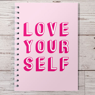 Love Yourself 12 Week Food and Daily Life Diary