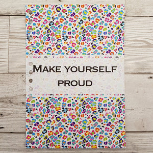 Make Yourself Proud 12 Week Food and Daily Life Diary
