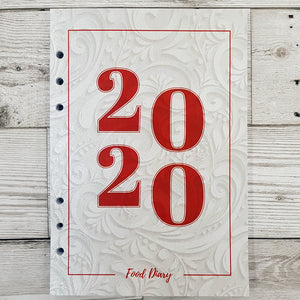 2020 6 Months Maintenance Diary Inserts
