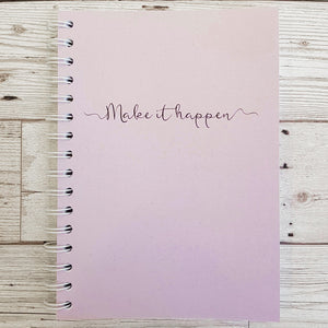 Pearlised Make it Happen 8 and 12 Week Organiser Refill