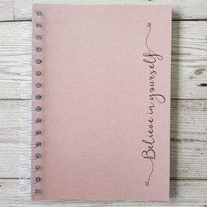 Pearlised Believe in Yourself 6 Month Maintenance Diary